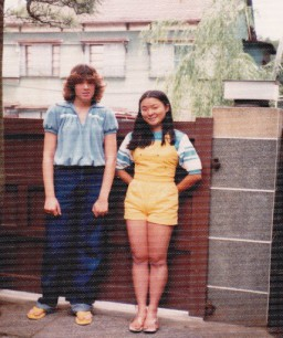 During my first stay in Japan 1980